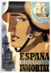 La promesa de resurrección de España fue un motivo muy presente en el clima liminal de la guerra civil.